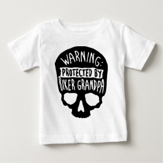 Protected By A Biker Grandpa Baby T-Shirt