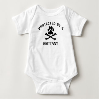 Protected By A Brittany Baby Bodysuit