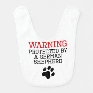 Protected By A German Shepherd Bib