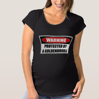 Protected By A Goldendoodle Maternity T-Shirt