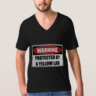 Protected By A Yellow Lab T-Shirt