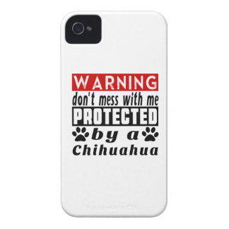 Protected By Chihuahua iPhone 4 Cover
