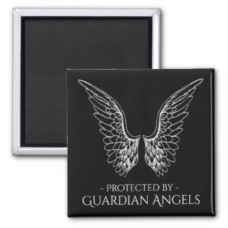 Protected by Guardian Angels Magnet