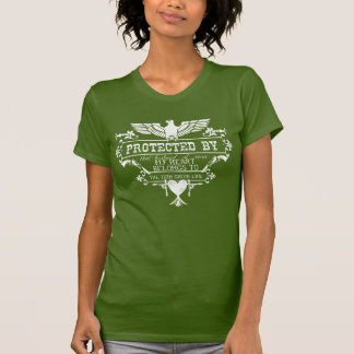 """Protected by """"Husband"""" The Thin Green Line T-Shirt"""