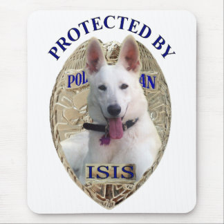 Protected By Isis Mouse Pad