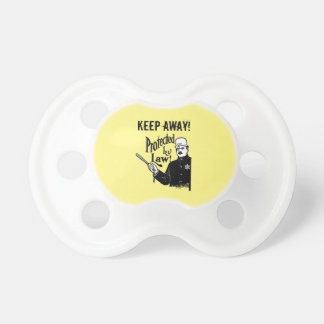 Protected By Law Police Baby Pacifiers
