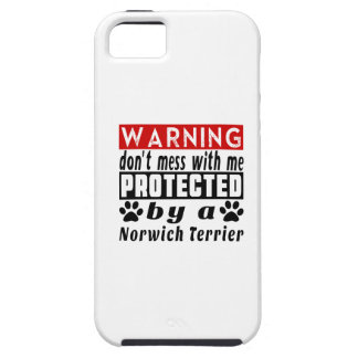 Protected By Norwich Terrier iPhone 5 Cover