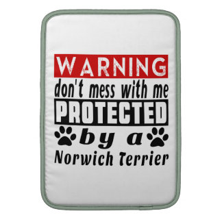 Protected By Norwich Terrier Sleeve For MacBook Air
