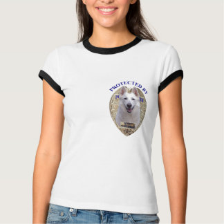 Protected By White Shepherd T-Shirt