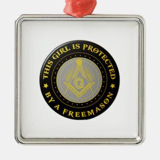 protected metal ornament