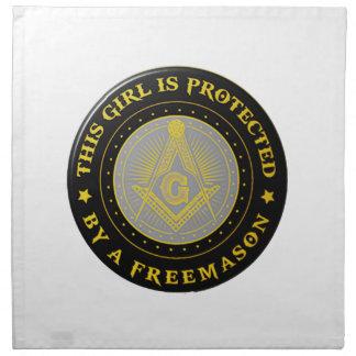 protected napkin
