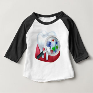 Protected Tooth and Gum Concept Baby T-Shirt