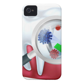 Protected Tooth and Gum Concept iPhone 4 Case-Mate Cases