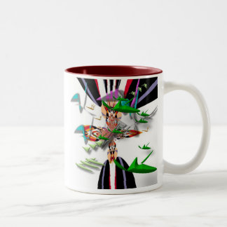 Protecting Nest Egg Two-Tone Coffee Mug