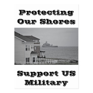 """Protecting our shores"" collection Postcard"