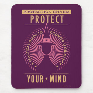 Protection Charm Guidebook Mouse Pad