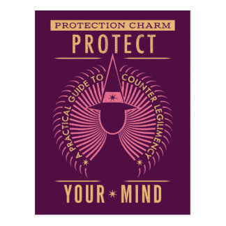 Protection Charm Guidebook Postcard