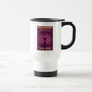 Protection Charm Guidebook Travel Mug
