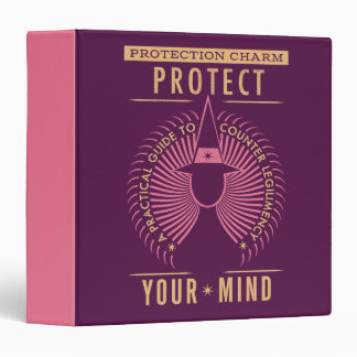 Protection Charm Guidebook Vinyl Binders