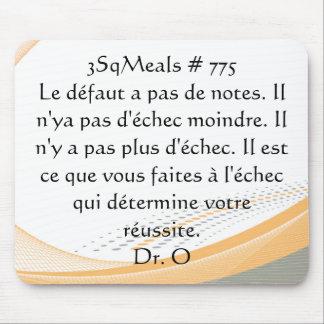 protection de souris de 3SqMeals #775 Tapis De Souris