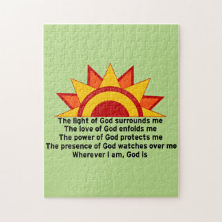 Protection Prayer Jigsaw Puzzle