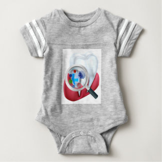 Protection Tooth Shield Baby Bodysuit
