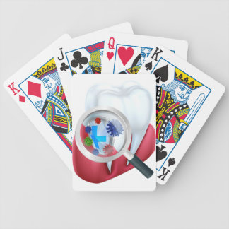 Protection Tooth Shield Bicycle Playing Cards
