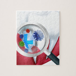 Protection Tooth Shield Jigsaw Puzzle