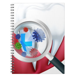 Protection Tooth Shield Notebook