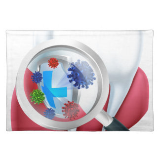 Protection Tooth Shield Placemat