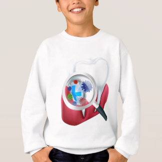 Protection Tooth Shield Sweatshirt