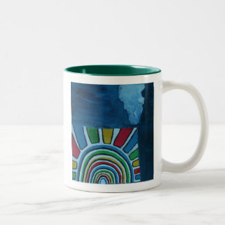 PROTECTION Two-Tone COFFEE MUG