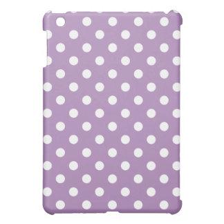 Protective iPad Mini Case - Purple Polka Dot