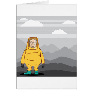 Protective Suit Illustration Card