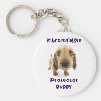 Protector Puppy Keychain