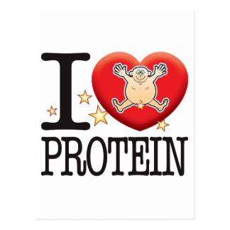 Protein Love Man Postcard