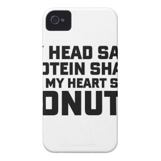 Protein Shake or Donuts Case-Mate iPhone 4 Cases