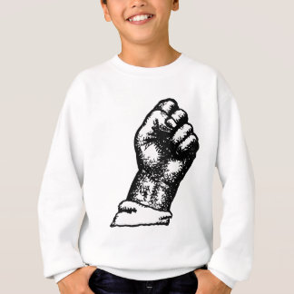 protest fist sweatshirt