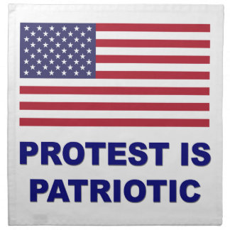 Protest is Patriotic Napkin