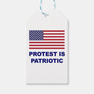 Protest is Patriotic Pack Of Gift Tags