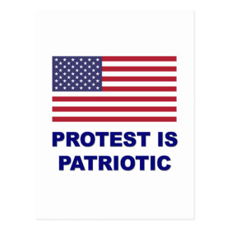 Protest is Patriotic Postcard