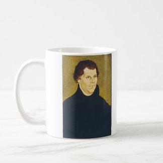 Protestant Reformist Martin Luther by L. Cranach Basic White Mug