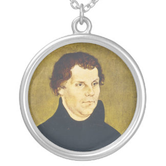 Protestant Reformist Martin Luther by L. Cranach Pendant