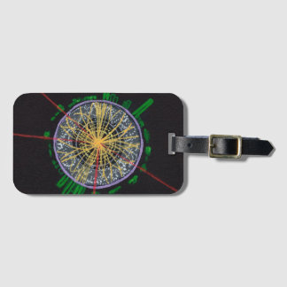 Proton Collisions at the LHC luggage tag
