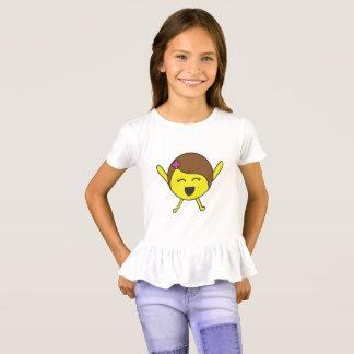 Protona shirt with peplum
