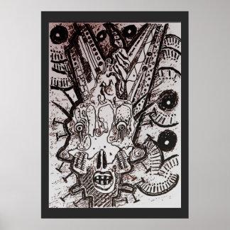 Prototype Scream Poster