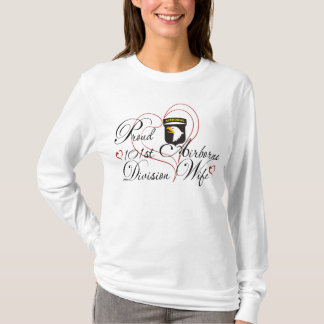 Proud 101st Airborne Division Wife T-Shirt