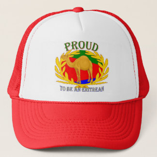 proud 2 be an eritrean trucker hat
