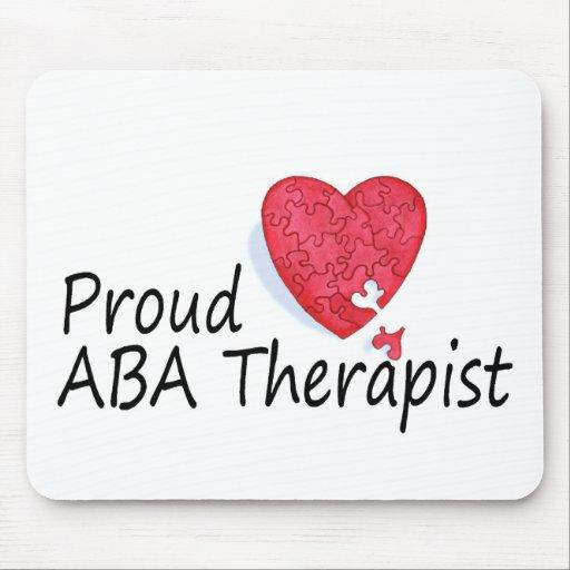 Proud ABA Therapist Mouse Mats