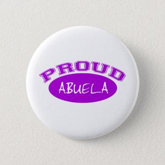 Proud Abuela (Purple) 2 Inch Round Button